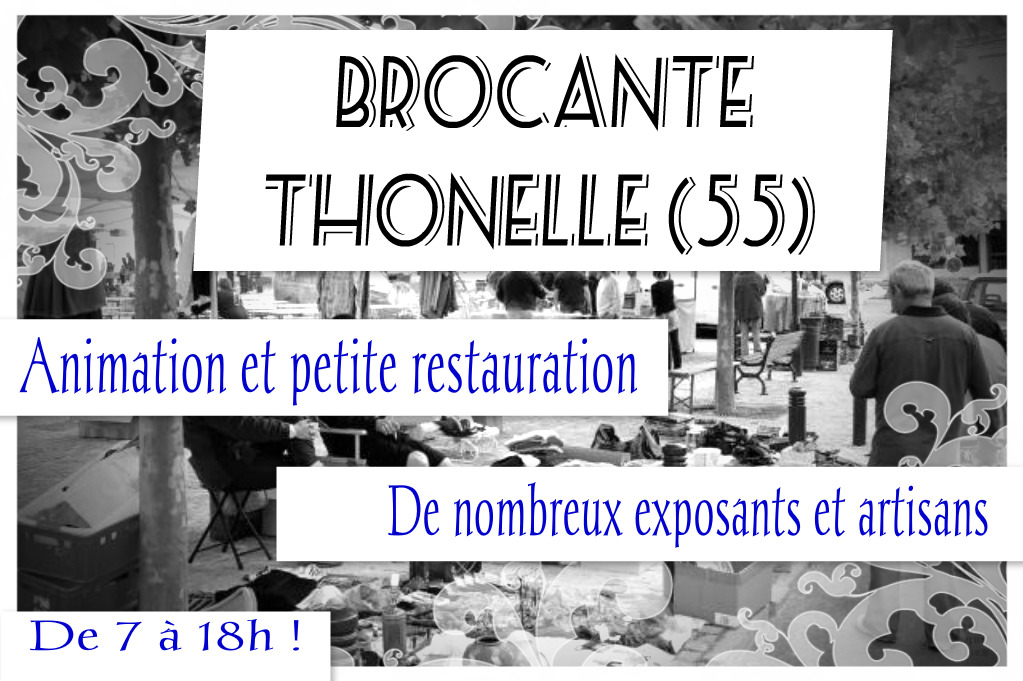 brocante thonnelle 17 avril 2016